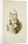 Self Portrait with Cap and Eye Patch by Caspar David Friedrich