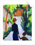 Mother and Child in the Park by August Macke
