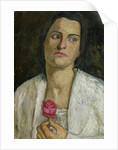 The Sculptress Clara Rilke-Westhoff 1905 by Paula Modersohn-Becker