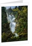 Waterfall in the Bern Highlands by Joseph Anton Koch