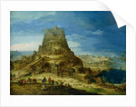 The Building of the Tower of Babel by Hendrick van Cleve