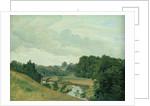 The River Alster at Poppenbuttel in the Morning by Johann Herman Carmiencke