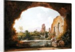 The Grotto of Egeria by Franz Ludwig Catel