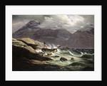 Shipwreck on the Norwegian Coast by Johan Christian Dahl