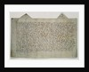 Last will and testament of the artist Master Bertram by German School