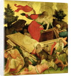 The Resurrection, panel from the St. Thomas Altar from St. John's Church, Hamburg by Master Francke