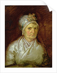 Magdalena Dorothea Runge, Mother of the Artist by Philipp Otto Runge