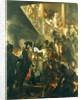 Frederick II the Great in Lissa, Bonsoir, Messieurs! by Adolph Friedrich Erdmann von Menzel