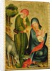 Rest on the Flight to Egypt, detail from the Grabow Altarpiece by Master Bertram of Minden