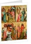 Joachim's Sacrifice and the Circumcision of Christ by Master Bertram of Minden