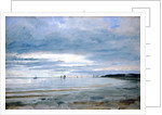 The Beach at Blankenese, 8th October 1842 by Jacob Gensler