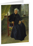 A Woman from Blankenese by Jacob Gensler