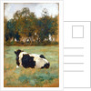 A Cow in the Meadow by Thomas Ludwig Herbst