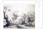 Landscape by Rembrandt Harmensz. van Rijn