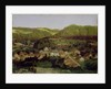 A View of the Village of Tenniken by Arnold Bocklin