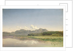 The Chiemsee at Stock by Johann Beckmann