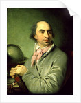 Portrait of Alexander Semenovitsch Chvostov by Vladimir Lukich Borovikovsky