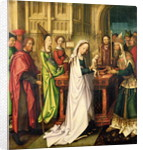Depiction of Christ in the Temple by Hans Holbein the Elder