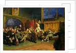 Evening in the Studio with my Students by Sir Hubert von Herkomer