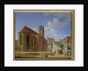 The Church Square in Wasserburg am Inn by Michael Neher