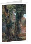 Old Elms by Friedrich Nerly