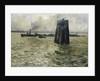 The Port of Hamburg by Leopold Karl Walter von Kalckreuth