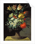Still Life with Flowers by Jens Juel