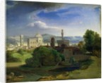 View over Florence by Carl Rottmann
