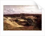 The heath near Bispingen, 1887 by Valentin Ruths
