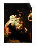 A Sleeping Shepherdess by Domenico Maggiotto