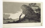 Landscape with Large Rocks, Buildings and Trees, before 1810 by Francisco Jose de Goya y Lucientes