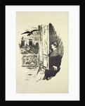 Illustration for 'The Raven', by Edgar Allen Poe by Edouard Manet