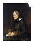 Helene Leibl, the Aunt of the Artist by Wilhelm Maria Hubertus Leibl