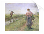 In the Morning by Fritz von Uhde