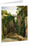 Rocky Ravine at Sorrento by Heinrich Reinhold