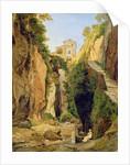 Ravine at Sorrento by Heinrich Reinhold