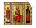 Madonna and Child with Saints Cyricus and Pancratius by Aachen Master