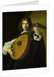 The Lute-Player by French School