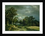 The Path on the Edge of the Wood by Johann Wilhelm Schirmer