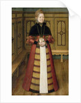 Portrait of Mette von Munchhausen by Ludger Tom the Younger Ring