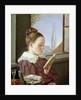 Minna Wasmann, the sister of the artist by Rudolph Friedrich Wasmann