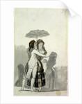 Couple with a Parasol by Francisco Jose de Goya y Lucientes