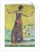 Femme Joyeuse by Ferdinand Hodler