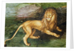 Lion by Albrecht Dürer or Duerer