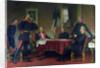Discussion of a War Strategy in Versailles by Anton Alexander von Werner