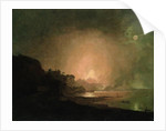 The Eruption of Mount Vesuvius by Joseph Wright of Derby