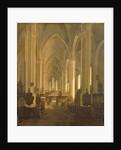 Interior view of St. John's Church in Hamburg by Jess Bundsen