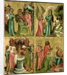 Joachim's Sacrifice, the Circumcision of Christ, the Annunciation to St. Joachim and the Adoration of the Magi by Master Bertram of Minden