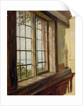 View of the Elbe through a Window by Johann Martin Gensler