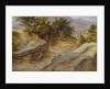 Italian Mountain Landscape by Joachim Faber